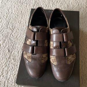 Gucci women sneaker brown size 35
